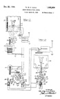 Finch Patent for the Radio Printer No. 1,985,654