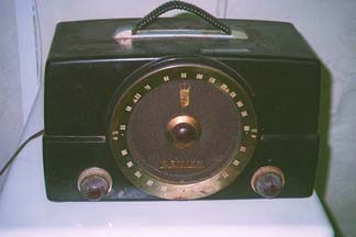 Zenith Model H725 Radio, After