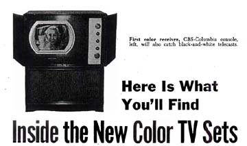 The CBS Mechanical Color TV System