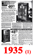 Sears Catalogue Radio Ads for 1935 (1)