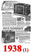 Sears Catalogue Radio Ads for 1938 (1)