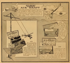A.C. Gilbert Company Air- Kraft Sets from the 1918 Catalogue