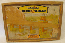 A.C. Gilbert Company Erector Anchor Block Set No. 4