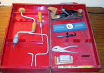 A.C. Gilbert Company Big Boy Tools -- No. 18 Set