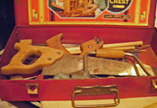A.C. Gilbert Company Big Boy Tool Set Contents