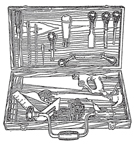 A.C. Gilbert Company  Big Boy Tool Set 1909 Version