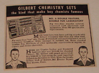 Testimonials for the Gilbert Chemistry set