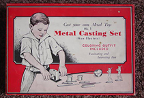 A.C. Gilbert Company Metal Casting Set Number One (box)