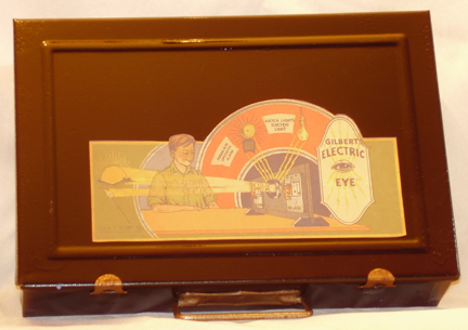 Gilbert 1930s Electric Eye set after restoration
