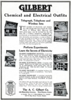 A.C. Gilbert Company Electricity  Set - advertisement for technical-scientific kits