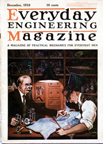 A.C. Gilbert Company Electricity Set -- Cover of Everyday Engineering, december 1918
