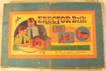 A.C. Gilbert Company Erector Brik Set -- Cover