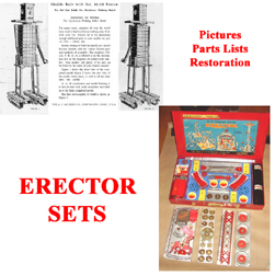 Button to send you to discussion of Erector Sets