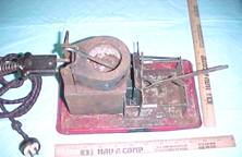 A.C. Gilbert Company Metal Casting Set - Side view