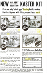 A.C. Gilbert Company Metal Casting Set - description in 1937 Popular Science ad