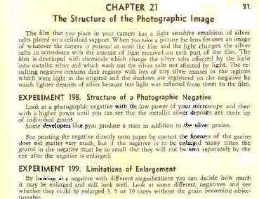 Gilbert Microscope Manual on Photography