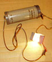 Gilbert Microscope Power pack illuminating bulb