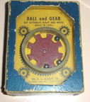 A.C. Gilbert Company Puzzle - rods and gears