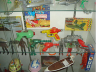 Ray Gun Toys from the 1960s
