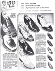 Shoe page from the 1930 Sears Catalogue