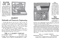 A.C. Gilbert Company Weather, and Hydraulic Sets