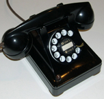 WE 410 two line phone