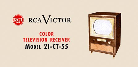 Ad for RCA Model 21-CT-55