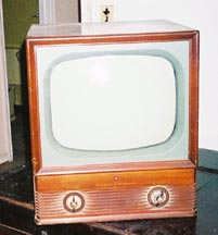 1950s Montgomery Ward Airline TV