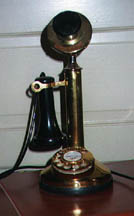 Reproduction Candlestick Phone
