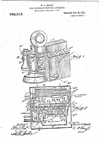 Gray Model 14 payphone patent 985,616