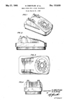 Western Electric Model 500 Desk Phone Patent D-153,928