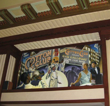 Tribute to the Cotton Club, Mural in the lobby of the Edison Hotel in NYC
