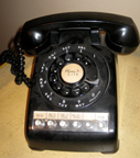 Western Electric Model 564 Desk phone, Black