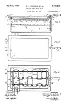 Westinghouse Roaster Griddle Patent No. 2,156,216