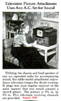 Article about the RCA TT-5 Television Receiver in the August 1939 issue of Popular Mechanics