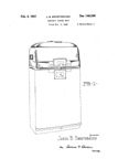Everhot Roaster Stand, Design Patent D-146,326
