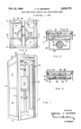 Aluminum and Glass Phone Booth Patent No. 2,925,770