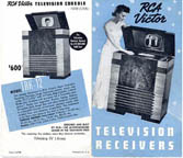 ads for the RCA TRK-12 Television Receiver