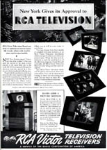 Esquire ad for RCA Television with TRK-12
