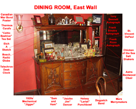 Dining Room South Wall