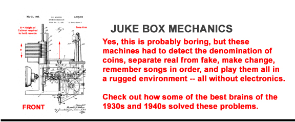Discussion of Juke Box Mechanics