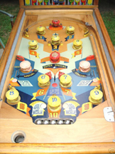 Exhibit Supply Co. West Wind Pinball - Game Board