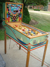 Exhibit Supply Co. West Wind Pinball - Full View