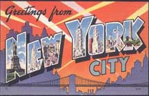 New York LL Postcard