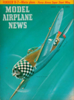 Model Airplane News  Cover for August, 1957 by Jo  Kotula  Republic P-47 Thunderbolt