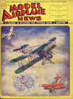 Model Airplane News Cover for February, 1932 by Jo Kotula SE5A, FE2b, RE-8