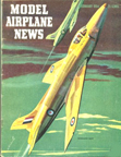 Model Airplane News Cover for February, 1954 by Jo Kotula Supermarine Swift