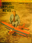 Model Airplane News Cover for February, 1957