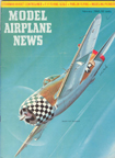 Model Airplane News  Cover for February, 1962 by Jo  Kotula  Republic P-47 Thunderbolt