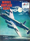 Model Airplane News Cover for June, 1944 by Jo Kotula Avro Lancaster